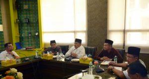 Rapat persiapan pendistribusian zakat tahap II di Siak oleh Baznas Siak (Foto: GoRiau)
