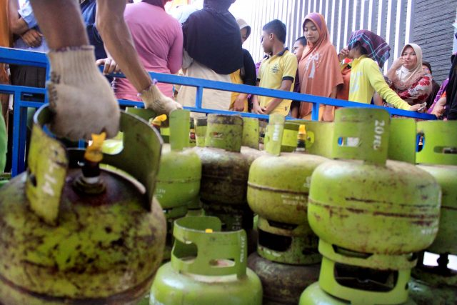 Antrian Gas