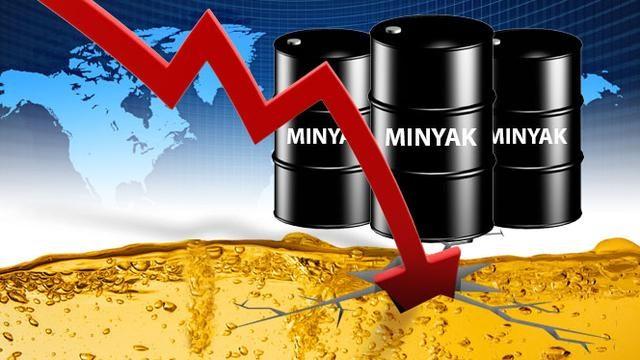 Ilustrasi harga minyak dunia
