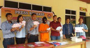 Polres Rohil gelar press release pengungkapan Upal