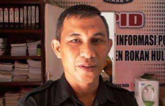 Ketua KPU Rohul Fahrizal