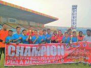 Kampar Junior U-14 melaju ke Tingkat Nasional Piala Menpora Tahun 2018 di Bali