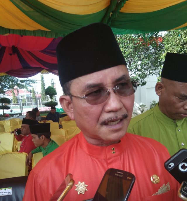 Sekretaris Daerah Kabupaten Rokan Hilir Drs. Surya Arfan. MSi