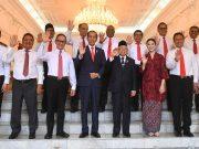 Presiden dan Wakil Presiden RI foto bersama dengan sejumlah Wakil Menteri