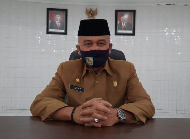 H.Rahmat Hidayat Siregar, S.Sos, M.Si selaku Jubir Gugus Tugas Covid19 dan Kadis Kominfo Kabupaten Asahan.