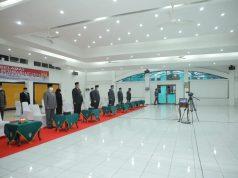 Pjs Sekda dan Asisten serta Kadis di Pemkab Asahan mengikuti upacara Hari Kesaktian Pancasila secara virtual patuhi Prokes