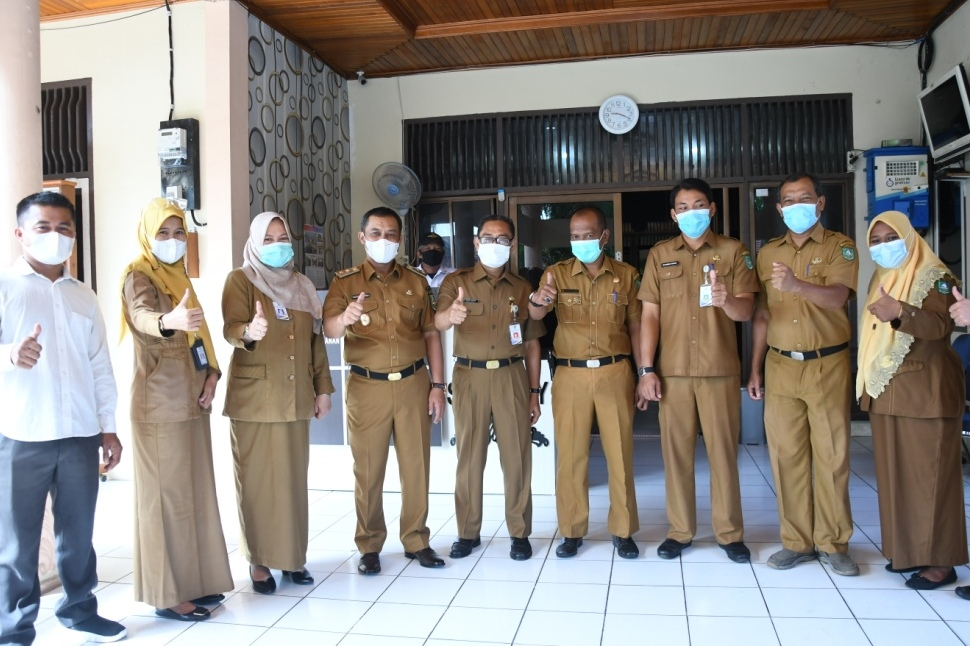 Sidak Dilakukan Wabup Di 2 Kantor Dinas - Berita Riau ...